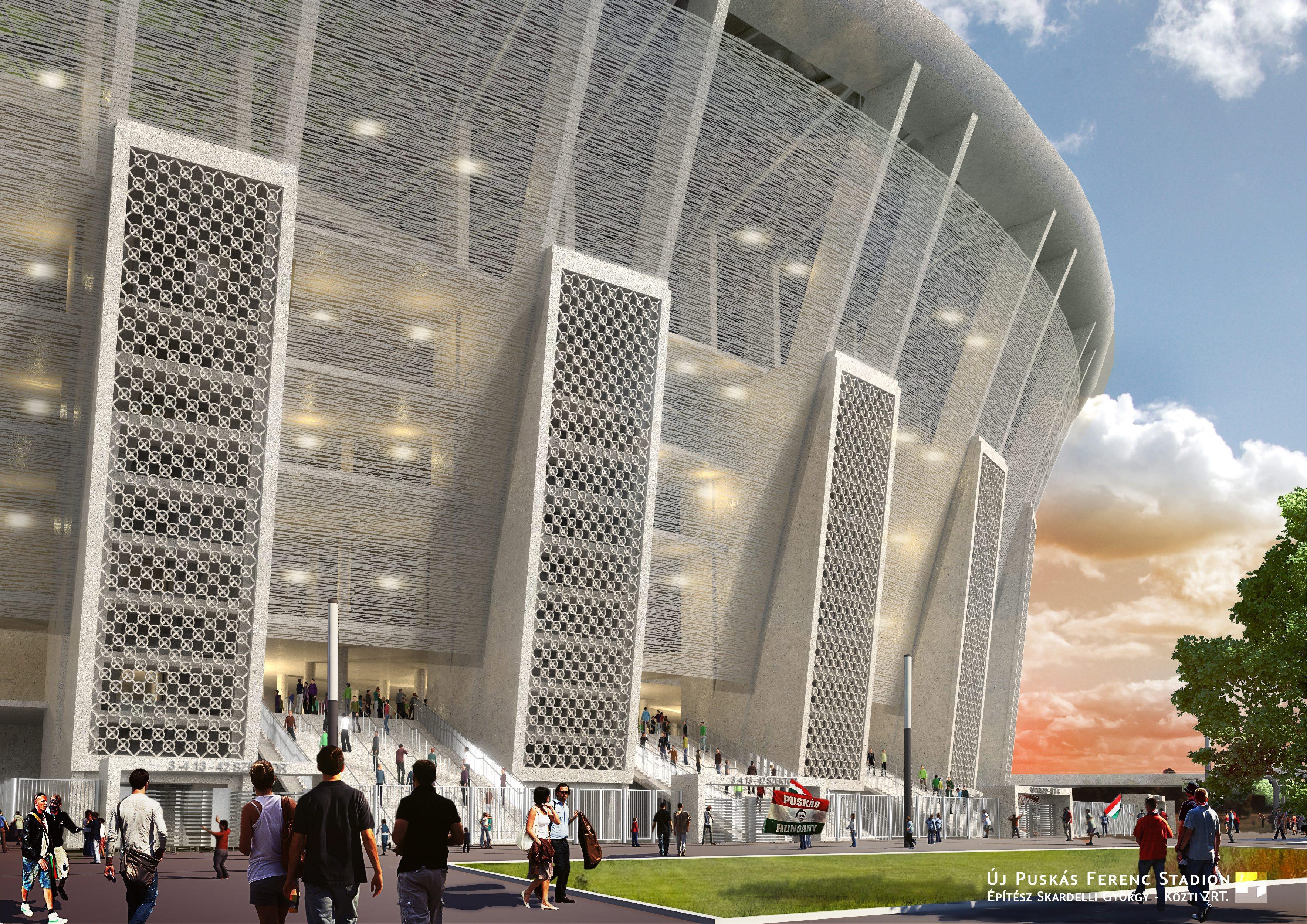 Ilyen lesz az új Puskás Ferenc Stadion  0b5e4a84dc